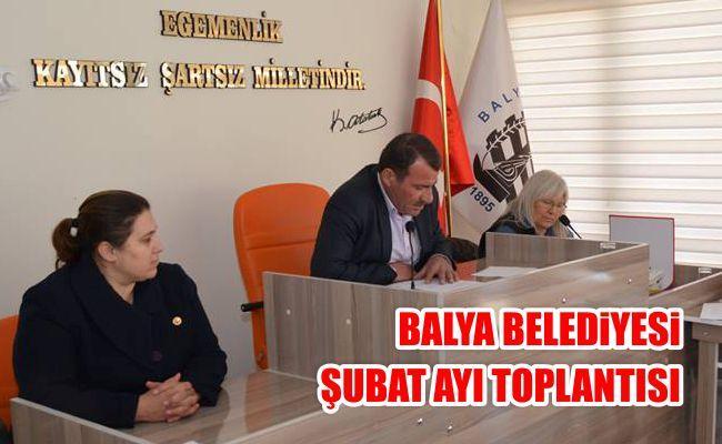 Balya Belediyesi Şubat Ayı Toplantısı