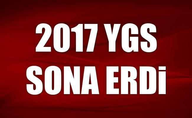 2017 YGS sona erdi