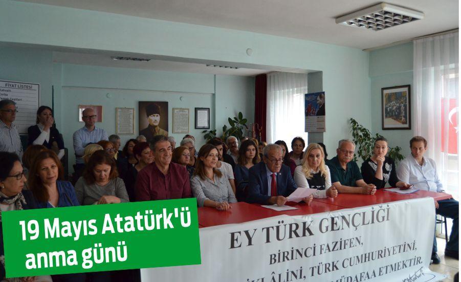 19 Mayıs Atatürk'ü anma günü