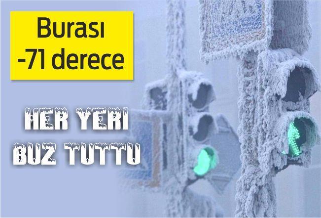 Dünyanın en soğuk yeri Yakutsk