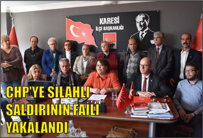 CHP, SALDIRGANIN SERBEST KALMASINA TEPKİ GÖSTERDİ