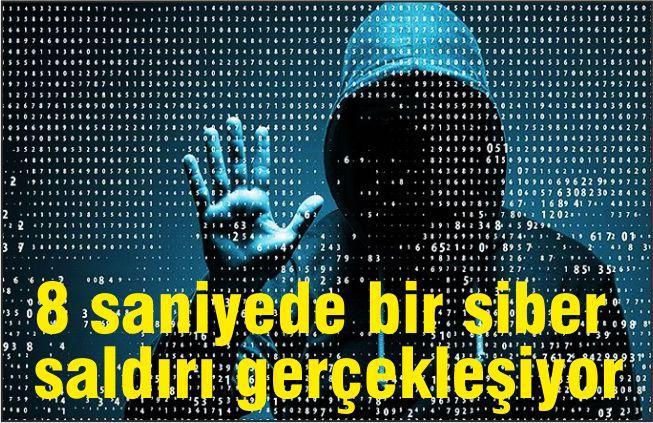 Her Saniye 8 Yeni Siber Saldırı Gerçekleşiyor