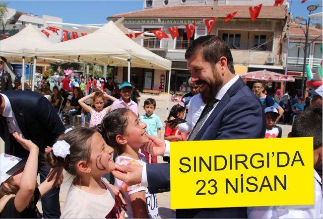 SINDIRGI'DA 23 NİSAN