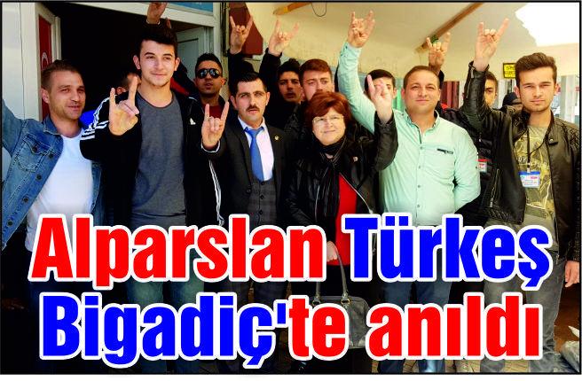 Ölümünün 21. yılında Alparslan Türkeş Bigadiç'te Anıldı