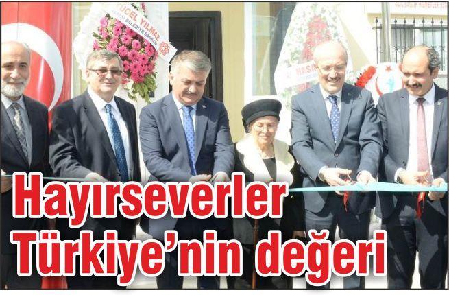 """""""HAYIRSEVER İNSANLARIMIZ BALIKESİR'İN EN BÜYÜK DEĞERİ"""""""