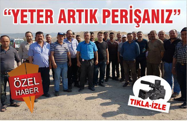 """""""YETER ARTIK PERİŞANIZ"""""""