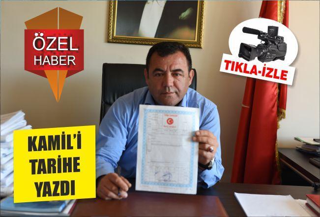 """""""KAMİL'İ"""" TARİHE YAZDI"""