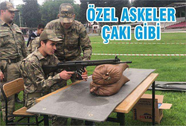 ÖZEL ASKERLER ÇAKI GİBİ