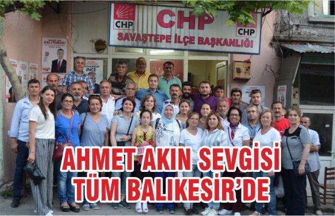 AHMET AKIN SEVGİSİ TÜM BALIKESİR'DE