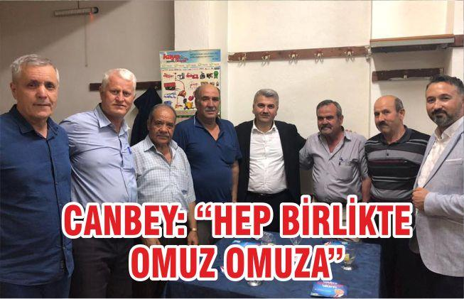 "CANBEY ""HEP BİRLİKTE OMUZ OMUZA"""