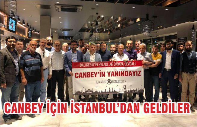 Canbey için İstanbul'dan geldiler