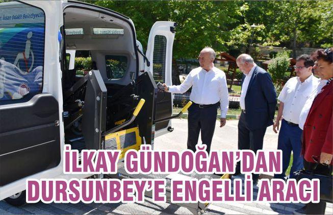 İLKAY GÜNDOĞANDAN DURSUNBEY'E ENGELLİ ARACI