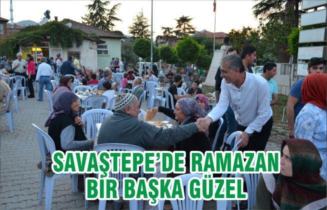 SAVAŞTEPE'DE RAMAZAN BİR BAŞKA GÜZEL