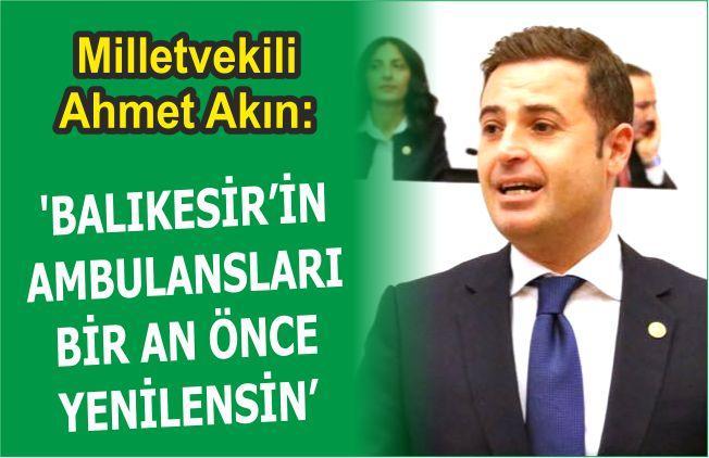 BALIKESİR'İN AMBULANSLARI BİR AN ÖNCE YENİLENSİN