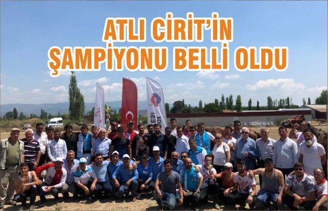ATLI CİRİT'İN ŞAMPİYONU BELLİ OLDU