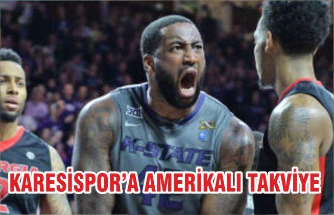 KARESİSPOR'A AMERİKALI TAKVİYE