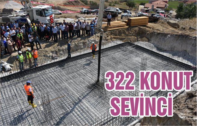 322 KONUT SEVİNCİ