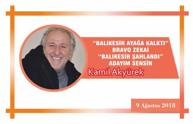 """BALIKESİR AYAĞA KALKTI"" BRAVO ZEKAİ ""BALIKESİR ŞAHLANDI"" ADAYIM SENSİN"