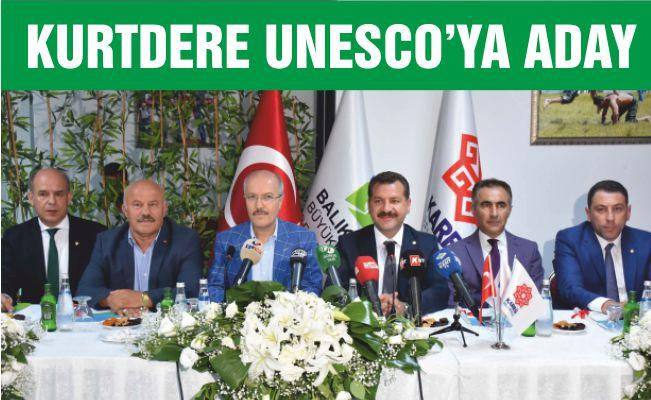 KURTDERE UNESCO'YA ADAY