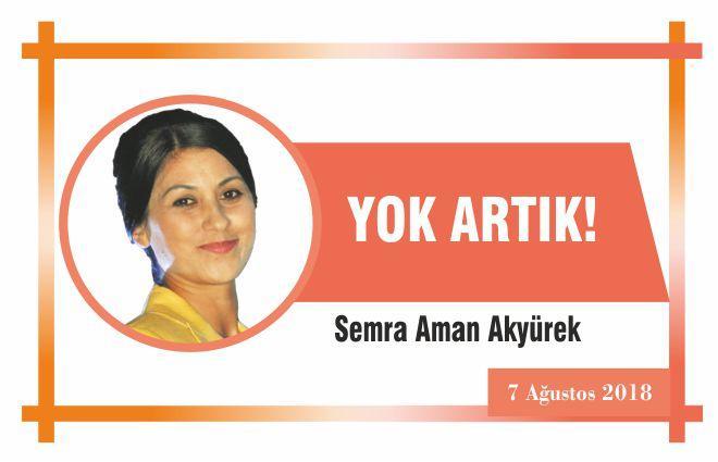 YOK ARTIK!