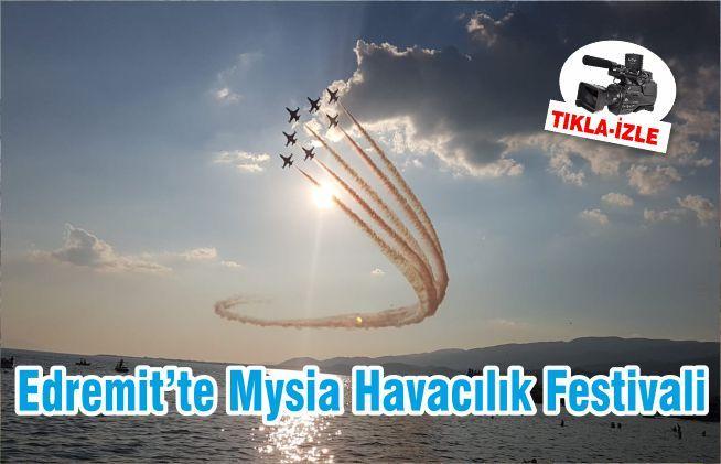 Edremit'te Mysia Havacılık Festivali