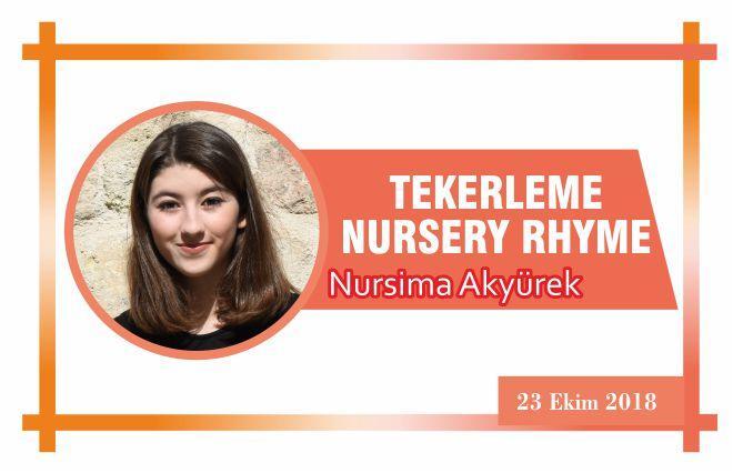 TEKERLEME — NURSERY RHYME