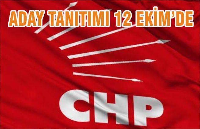 ADAY TANITIMI 12 EKİM'DE
