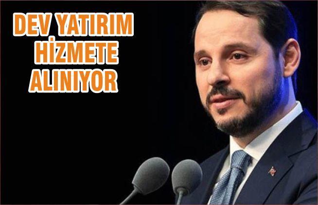 DEV YATIRIM HİZMETE ALINIYOR