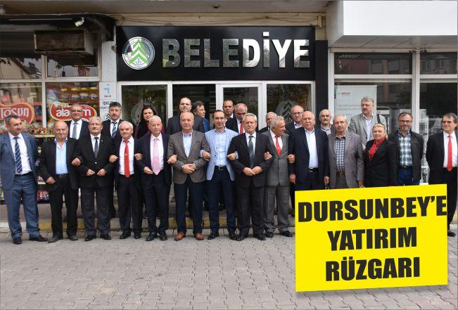 DURSUNBEY'E YATIRIM RÜZGARI