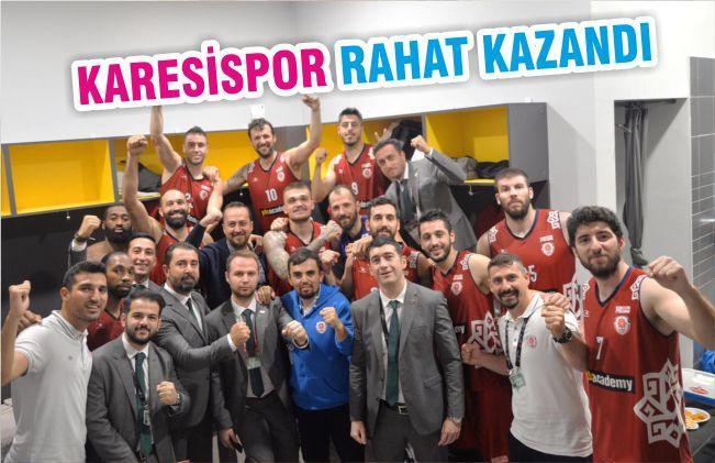KARESİSPOR RAHAT KAZANDI