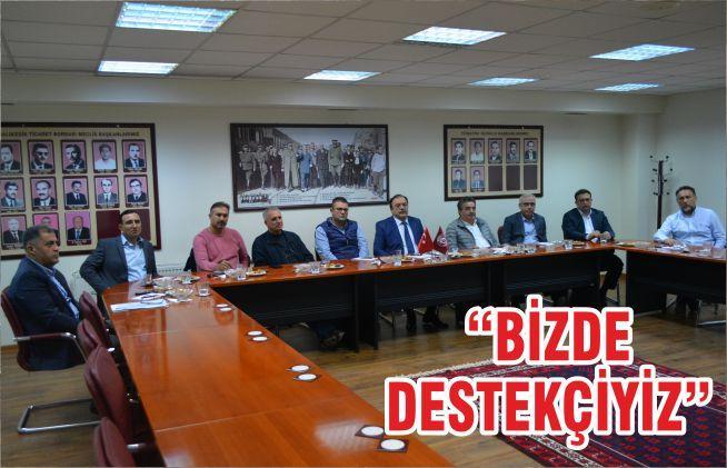 """""""BİZDE DESTEKÇİYİZ"""""""