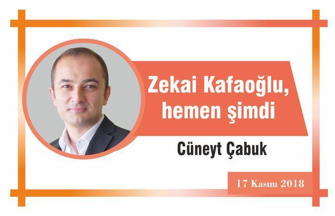 Zekai Kafaoğlu, hemen şimdi