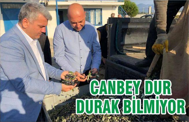 CANBEY DUR DURAK BİLMİYOR