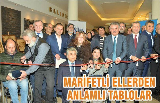 MARİFETLİ ELLERDEN ANLAMLI TABLOLAR