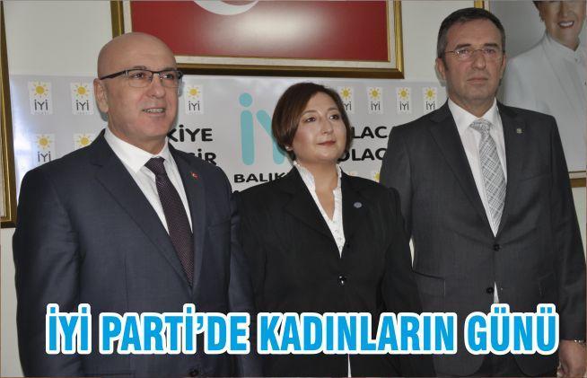 İYİ PARTİ'DE KADINLARIN GÜNÜ