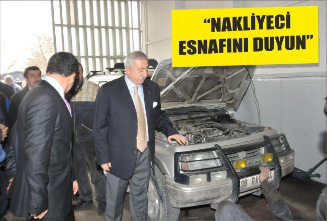 """""""NAKLİYECİ ESNAFINI DUYUN"""""""
