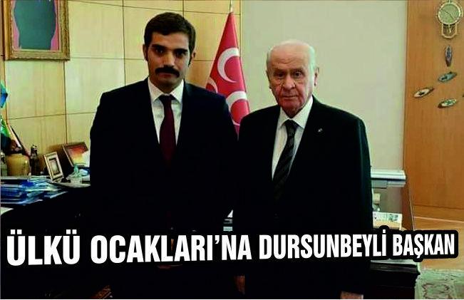 ÜLKÜ OCAKLARI'NA DURSUNBEYLİ BAŞKAN