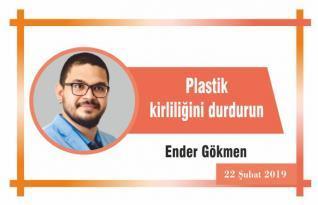 Plastik kirliliğini durdurun