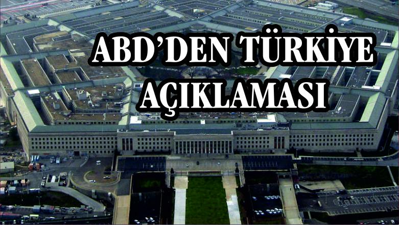 ABD yalanladı: Türkiye ile görüşmelerimiz sürüyor