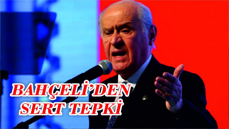 Türkiye'yi tehdit eden ABD'ye Bahçeli'den sert tepki