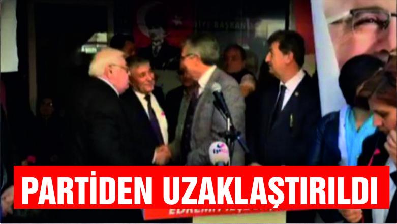 """SARI """"PARTİMİZLE İLİŞİĞİ KESİLMİŞTİR"""""""