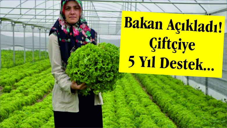 "PAKDEMİRLİ ""5 YIL DESTEK VERİLECEK"""