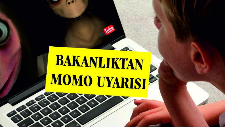 Bakanlıktan ailelere 'Momo' uyarısı