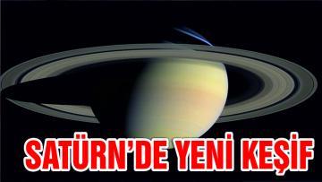 Satürn'de yeni keşif