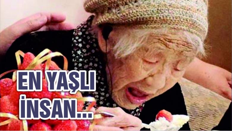 Dünyanın en yaşlısı Japonya'dan