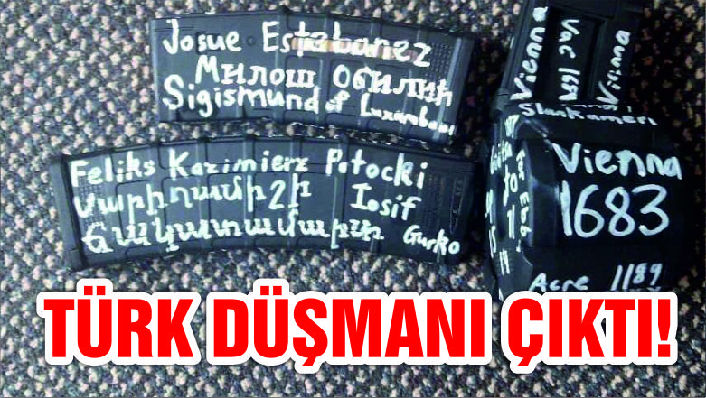 Camiye saldıran teröristin silahındaki ilginç detay: Türk düşmanı