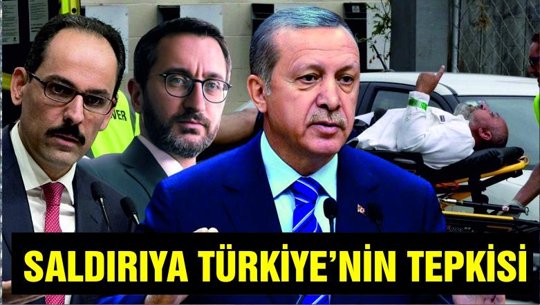 Cami saldırılarına Türkiye'den ilk tepki