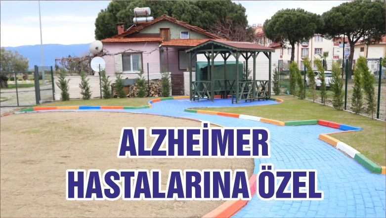 ALZHEİMER HASTALARINA ÖZEL