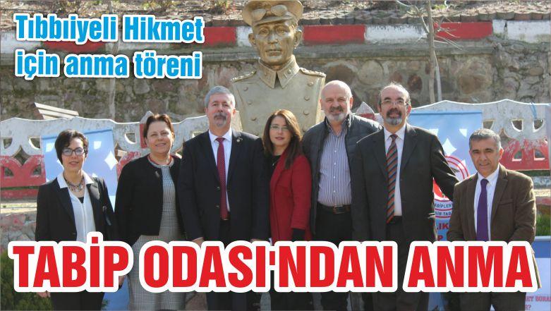 TABİP ODASI'NDAN ANMA