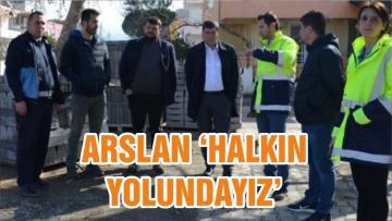 ARSLAN 'HALKIN YOLUNDAYIZ'